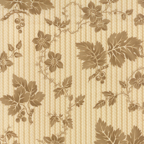 Moda CRAZY FOR RED Tonal Ivory 14791 13 Quilt Fabric BTY Minick /& Simpson