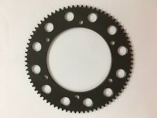 76 Tooth Aluminum Go Kart Rear Axle Sprocket for 219 Chain