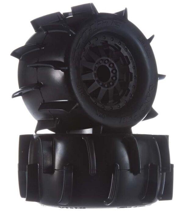 Pro-Line Pro-Line Pro-Line 1186-14 Sand Paw 2.8  Tires   Wheels Mounted (2) Front Stampede Rustler 7ead5a