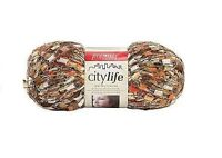 new 3 skeins premier city life ladder jewelry yarn orchid mystery 847652007366 Craft Supplies