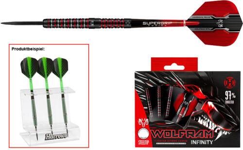Dartständer Darts HARROWS Wolfram Infinity Steeldarts Dart Set