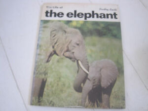 THE LIFE OF THE ELEPHANT BY BRADLEY  SMITH  1972 HARDBACK WITH DUST JACKET - Chester le Street, United Kingdom - THE LIFE OF THE ELEPHANT BY BRADLEY  SMITH  1972 HARDBACK WITH DUST JACKET - Chester le Street, United Kingdom