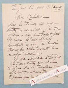 L-A-S-1918-FOUGERES-Ille-et-Vilaine-a-identifier-Paul-LOUBET-WW1-lettre