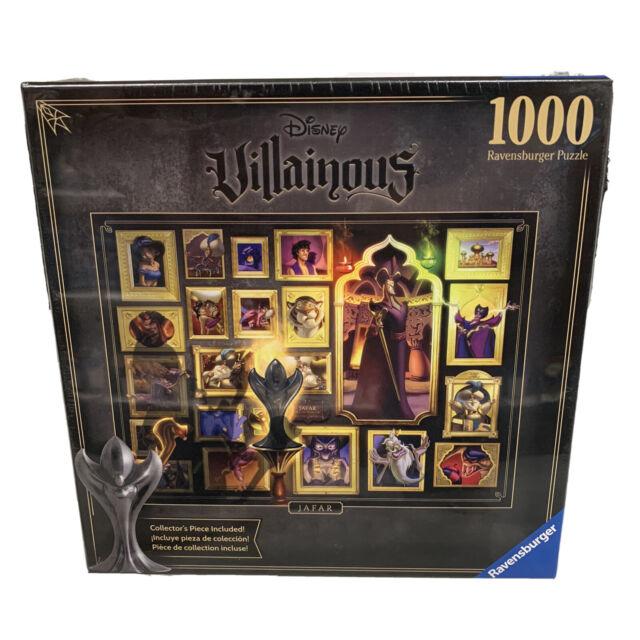 NEW! Ravensburger JAFAR Aladdin Disney Villainous 1000 Pcs Jigsaw Puzzle SEALED
