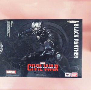 Black-Panther-Model-Captain-America-Civil-War-Action-Figure17cm-Toy-NEW