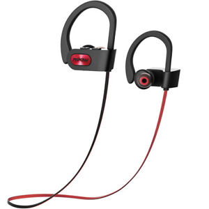 MPOW-Bluetooth-Headset-In-ear-Wireless-Headphone-Hook-Mic-Earphone-Waterproof-AU