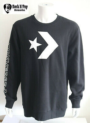 Converse Men/'s Photo Fill Star Chevron Tee White 10017437-A01-102