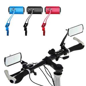 Adjustable MTB Bike Rearview Motorcycle Looking Glass Handlebar Bicycle Mirror