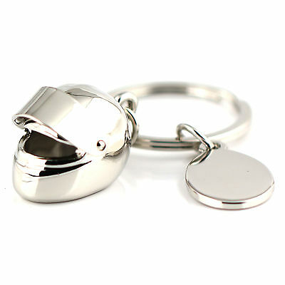 10PCS Creative Motorcycle Bicycle Helmet Key Chain Ring Keychain Keyring Keyfob