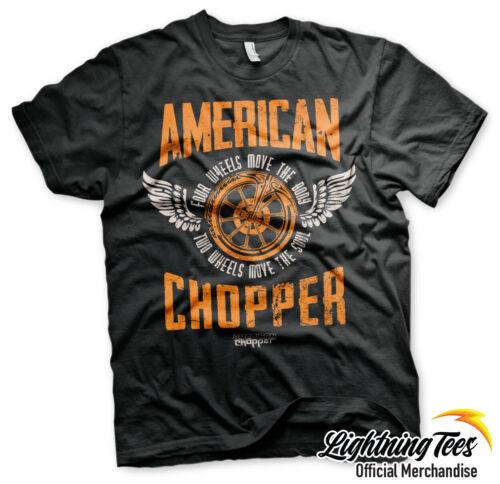 Official American Chopper Orange County Choppers OCC Two Wheels T-Shirt