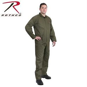f7fe348f51f1 US Air Force Military Style Flight Suit Coveralls Paintball Jumpsuit Olive  Drab