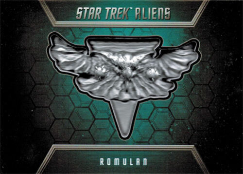 Star Trek Aliens Badge Card B5 Romulan 143 of 200