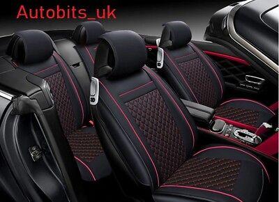 Luxury Leatherette Car Seat Covers Dacia Duster Full Set