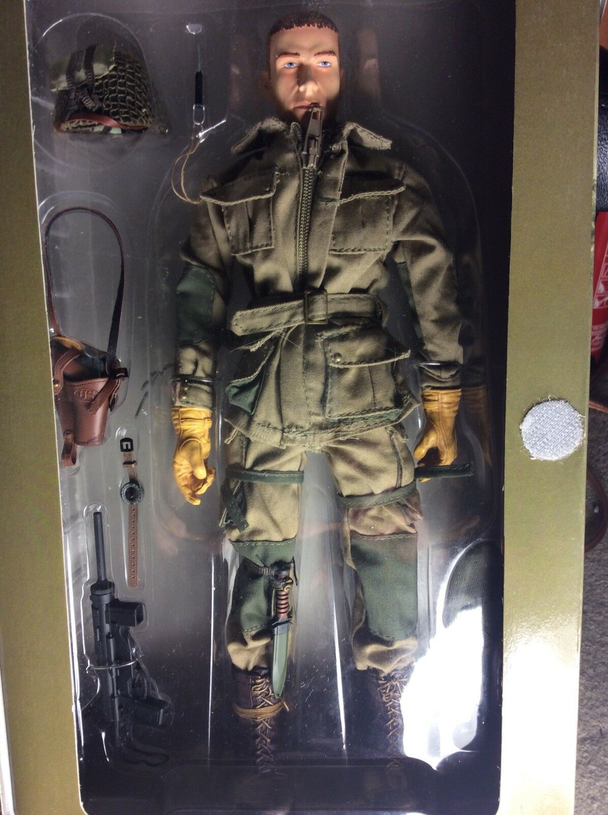 2 Very Rare Elite Force Force Force 1 6 Figures Royal Marine And Airborne Soldiers f6b7eb