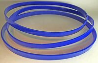 Set Of 3 Tires Ultra Thick 1/8 For Sears Roebuck 534.01120 Companion Band Saw