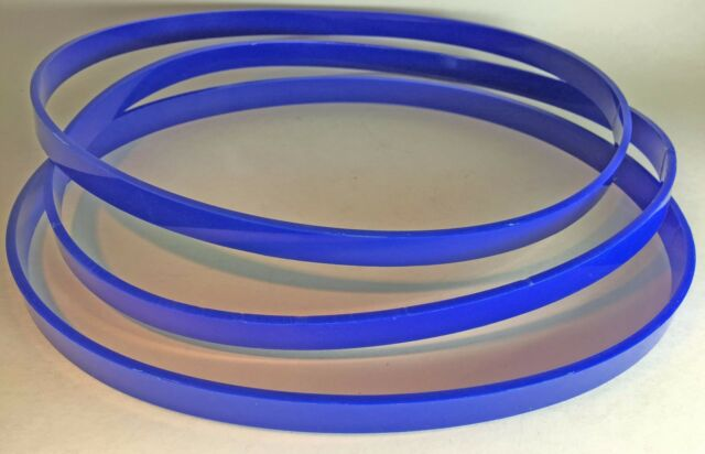 3 BLUE MAX ULTRA DUTY URETHANE BAND SAW TIRES FOR CRAFTSMAN 420.24250 BAND SAW