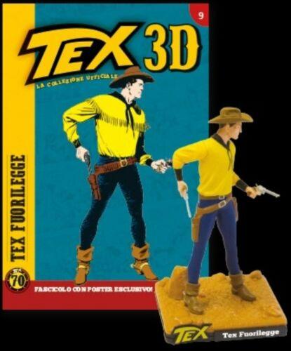 BONELLI CENTAURIA TEX FUORILEGGE Tex 3d COLLECTION FIGURE uscita 9