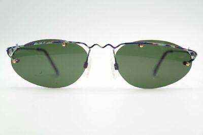 100% Vero Vintage Neostyle Holiday 907 58 20 Lilla Verde Ovale Occhiali Da Sole N. Valore Eccezionale