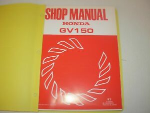 Tremendous Honda Gv150 Engine Shop Service Parts Manuals Ebay Wiring Digital Resources Funiwoestevosnl