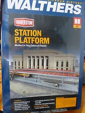 Walthers Cornerstone HO #3391 Station Platforms (Kit Form) We Combine Ship