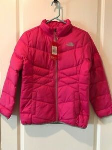 27809e3f9 Details about The North Face Girls Andes 550 Down Fill Jacket Large NWT  Pink MSRP:$99.00