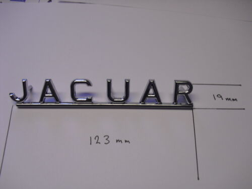 TRUNK BADGE E-TYPE XK-E S-TYPE 420 420G MK2 MK10 BD26762 JAGUAR BOOT