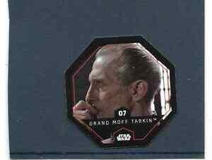 Jeton Cosmic Shells Star Wars Leclerc n°7 GRAND MOFF TARKIN