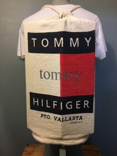 Vtg 1990s 90s Tommy Hilfiger Baja Backpack Spellou