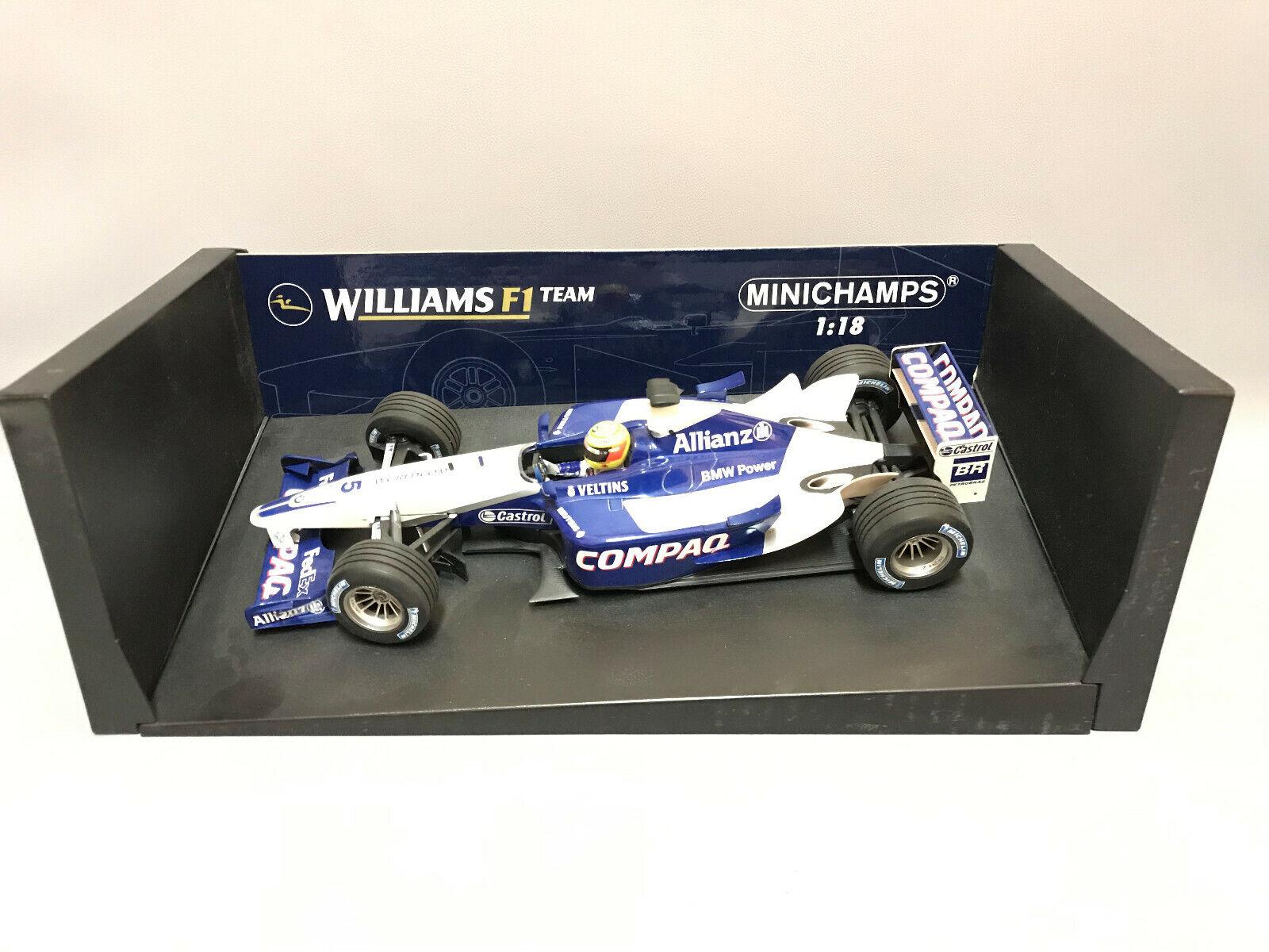 Campeón 1  18 Williams F1 BMW Campbell Ralph Schumacher
