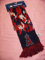 Forever Collectibles Unisex Los Angeles Angels Of Anaheim Scarf