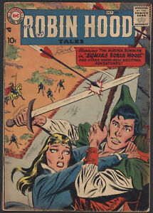Robin-Hood-Tales-11-Very-Good-Complete-10-Cent-Cover-DC-Comics-1957-CBX34