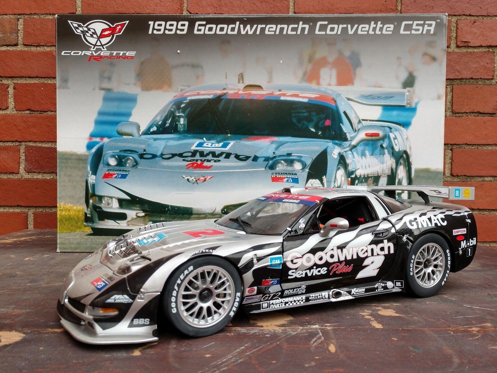GMP 1999 Goodwrench Chevrolet Corvette C5-R  12 escala Diecast Modelo del Coche de carrera