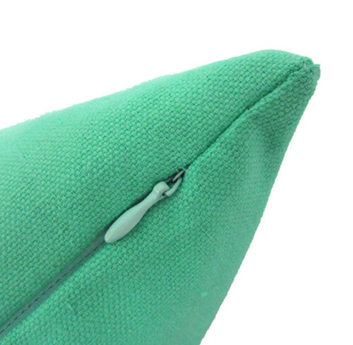 Aa144a Plain Turquoise Green Cotton Canvas Cushion Cover//Pillow Case*Custom Size