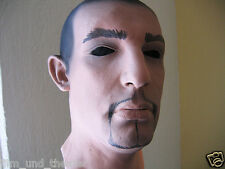 MIKE MASK - Realistic Male Latexmask Latexmaske Effect Mask, FX Head, Rubber Gum