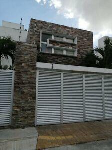 Excelente Casa Amueblada en Renta 2 Niv 5 Rec 3.5 Baños Zona Sur Cancún Q. Roo