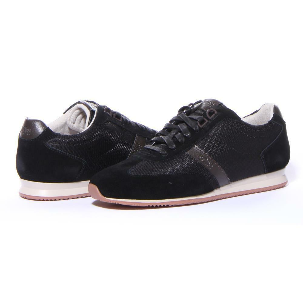 Hommes Chaussures Hugo Boss Orland _ FaibleP _ sdny 1 paniers noir Taille 11