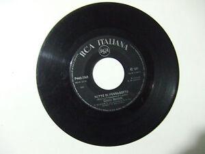 Gianni Morandi - Notte Di Ferragosto-Disco Vinile 45 Giri ITALIA 1966 (No Cover)