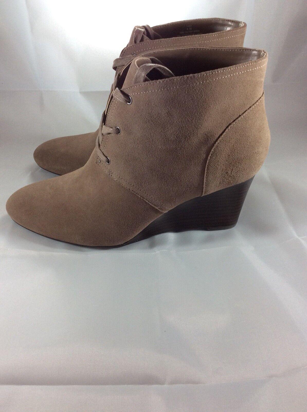 Lauren Ralph Lauren Women's Tamia-Bo-Cwd Boot Porcini Size 8.5B - New
