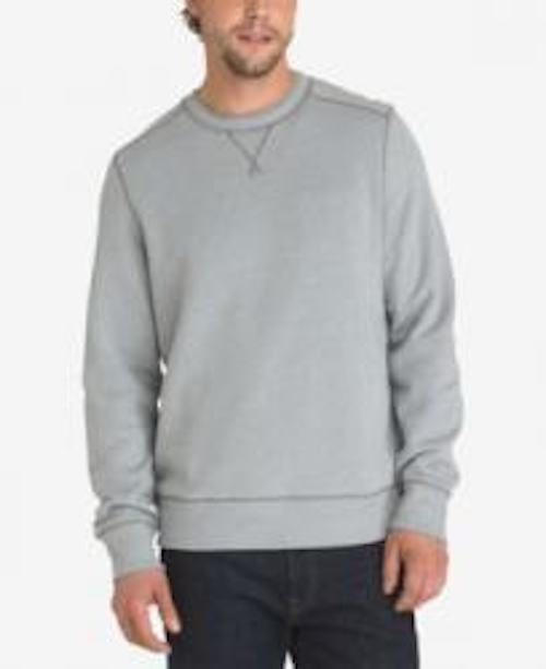 G.H. Bass & Co. Men's Mountain Sueded-Fleece Sweater  Large