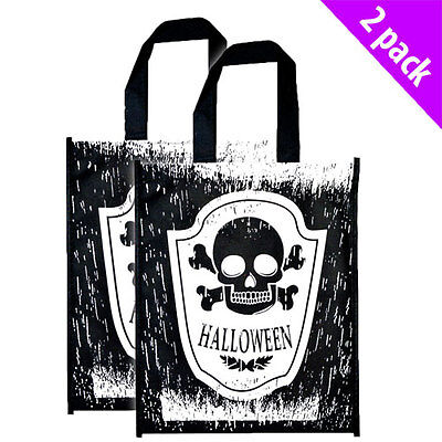 Scream Machine Halloween 2 Trick Or Treat Bags Official Product Scary x