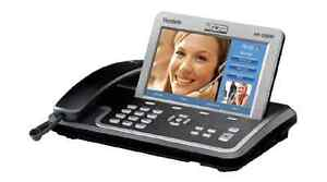 Yealink-IP-Video-Phone-7-034-Color-LCD-Touch-Screen-HD-Voice-VP-2009P-POE-w-Power