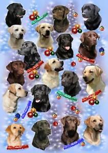 Labrador-Retriever-Dog-Christmas-Wrapping-Paper-by-Starprint-1-sheet-semi-gloss