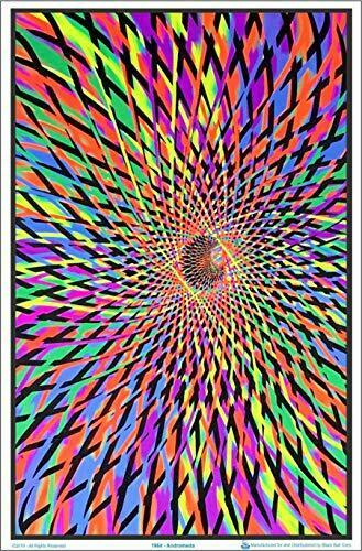 "Andromeda Laminated Blacklight Poster 23.5/"" x 35.5/"""