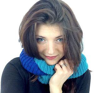 Sciarpa-donna-Scarf-Scaldacollo-Bicolore-Taglia-unica-Moda-Inverno-NUOVO