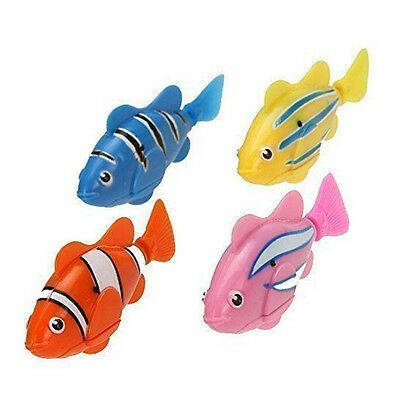 Swimming Robot Fish Activated in Water Magical Electronic Toy Kids Children EV