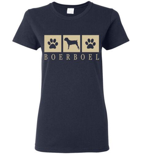 Mens Youth Tank Womens Long Sleeve Short Boerboel Silhouette T-Shirt Tee