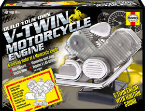 Haynes-V-Twin-Motorcycle-Engine-Build-your-own-working-model-engine