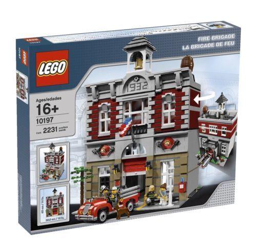 LEGO 10197 Skapare - Brandbrigaden - Brand New Mint in låda