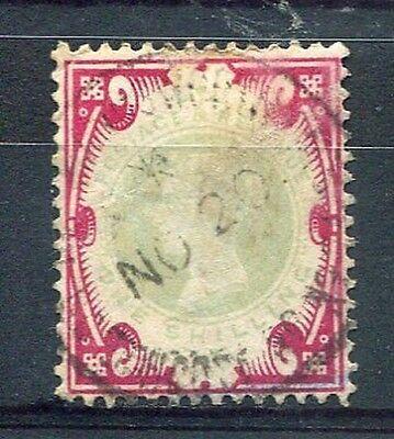 Neue Mode Great Britain 1887-1900 Briefmarke Klassisch 104 Victoria Entwertet Hohe Belastbarkeit