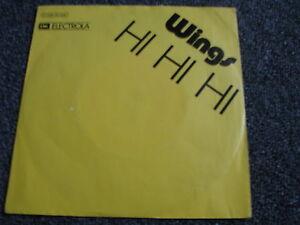 Wings-Hi-Hi-Hi-7-PS-Made-in-Germany-Rock-Ex-The-Beatles